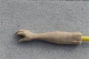 fake arm