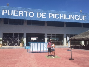 The Port of Pichilingue